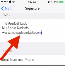 how-to-change-iphone-email-signature